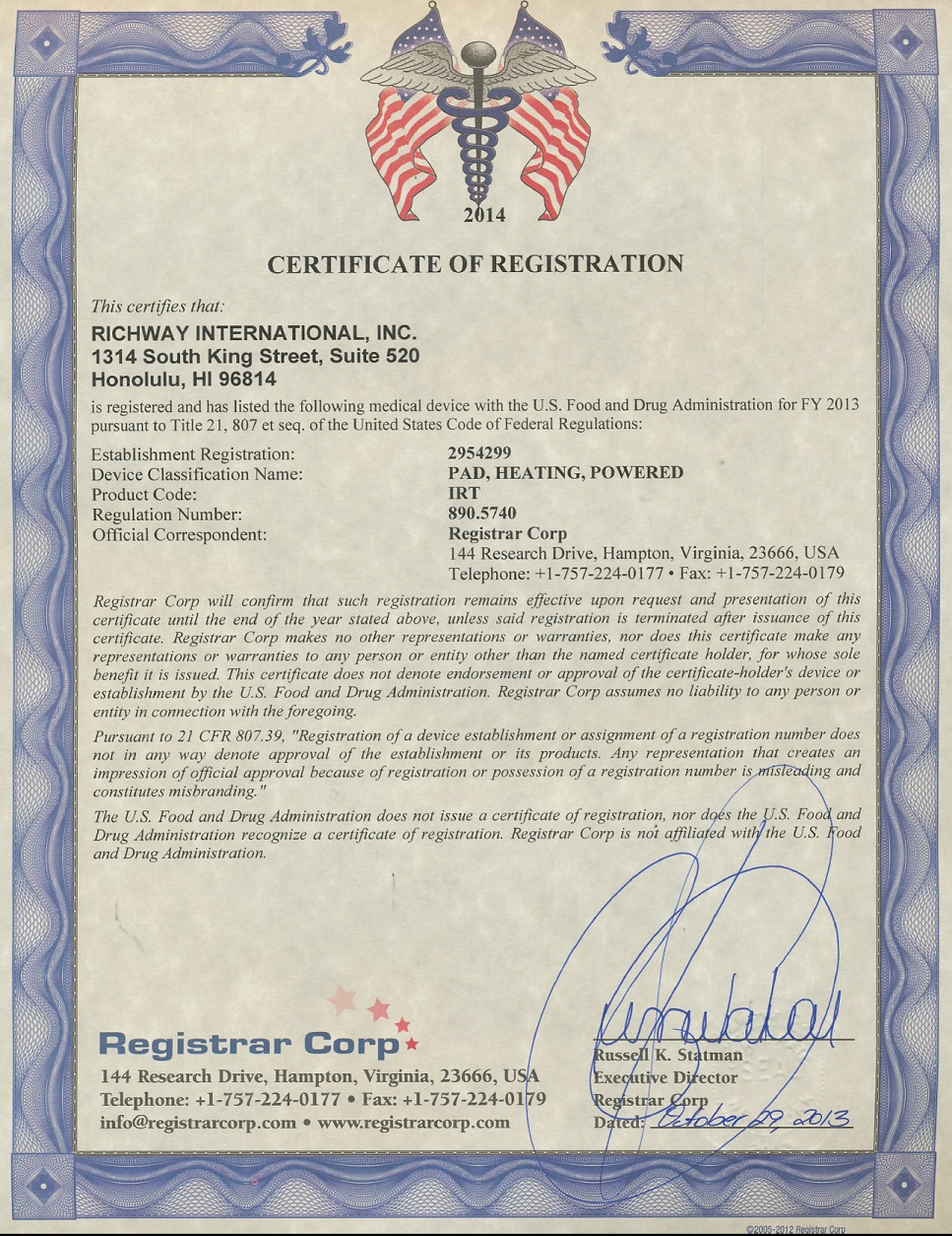 FDA Registered - BioMat Source